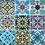 Modeller för keramiska tegelplattor från Fotografering för Bildbyråer