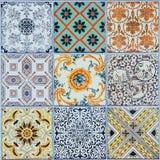 Modeller för keramiska tegelplattor från Portugal Royaltyfri Foto