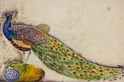Modeller för keramiska tegelplattor från Portugal Azulejos Royaltyfri Foto