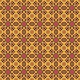 Modeller för orange universell vektor för morot som sömlösa belägger med tegel geometriska prydnadar Royaltyfria Bilder