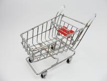 Modeller för shoppingvagn Royaltyfri Fotografi