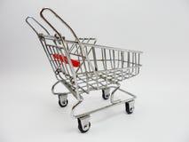 Modeller för shoppingvagn Arkivfoto