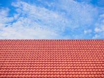 Modeller för taktegelplattor arkivbild