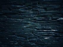 Modeller och texturer av svarta stenar Arkivfoto