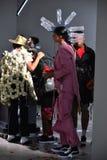 Modeller på landningsbanan på Sanchezen-Kane visar Royaltyfri Foto