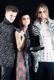modeller tre Royaltyfri Foto