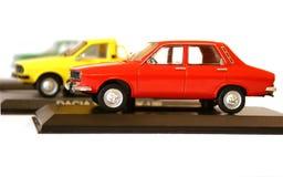 Modellera att samla för bilar Royaltyfri Fotografi