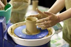 Modellera för lera Royaltyfria Foton