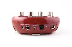 modellera processor för ampere-gitarr Royaltyfri Foto