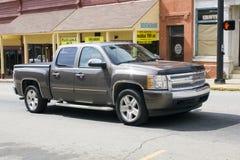 Modellera sent den Chevy uppsamlingen åker lastbil 2013 Arkivfoton