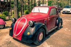 Modellering - Fiat 500 Topolino Stock Fotografie