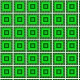 Modellfyrkantgräsplan Arkivfoton