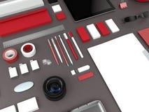 Modellgeschäftsschablone Stockbilder