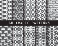 10 modelli arabi Immagini Stock