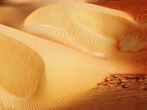 Modelli astratti del deserto Fotografie Stock Libere da Diritti