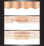 Modelli astratti dell'insegna di tecnologia illustrazione vettoriale