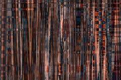Modelli astratti di colore su una retro struttura sporca Fotografia Stock Libera da Diritti