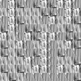 Modelli astratti di frattale di struttura del nero di lerciume Fotografie Stock Libere da Diritti