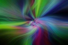 Modelli astratti multicolori Concetto Aurora Borealis Fotografie Stock