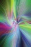 Modelli astratti multicolori leggeri Concetto Aurora Borealis Fotografia Stock Libera da Diritti