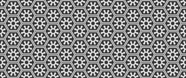 Modelli in bianco e nero geometrici semplici per la vostra progettazione adatta per vari scopi fotografie stock libere da diritti