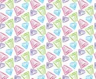 Modelli con l'illustrazione dei triangoli royalty illustrazione gratis