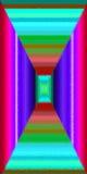 Modelli dei quadrati Immagini Stock
