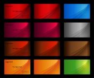 Modelli del biglietto da visita Fotografia Stock