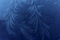 Modelli del gelo Immagine Stock Libera da Diritti