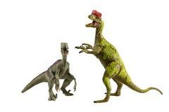 Modelli del giocattolo dei dinosauri Immagine Stock Libera da Diritti
