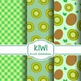 Modelli del kiwi determinati Fotografia Stock Libera da Diritti
