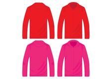 Modelli del pullover di vettore Fotografie Stock