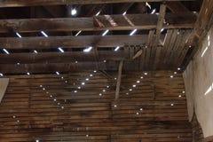Modelli del soffitto alla luce Immagini Stock