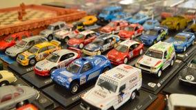 Modelli dell'automobile di raduno immagini stock libere da diritti