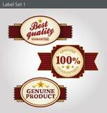 Modelli dell'etichetta royalty illustrazione gratis