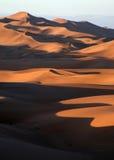 Modelli della duna sopra la vista Immagini Stock Libere da Diritti