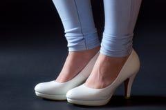 Modelli delle calzature Immagini Stock Libere da Diritti