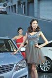 Modelli di Car Show Immagine Stock