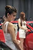 Modelli di Car Show Fotografie Stock
