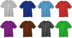 Modelli di disegno della maglietta Fotografie Stock Libere da Diritti