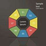 Modelli di Infographic Immagini Stock