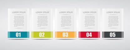 Modelli di Infographic per il vettore di affari Immagine Stock Libera da Diritti