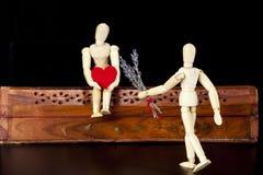 Modelli di legno Fotografia Stock