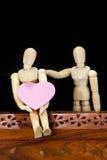 Modelli di legno Fotografie Stock Libere da Diritti