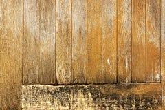 Modelli di legno nocivi stagionati trascurati e Textur di Panal della porta Fotografie Stock