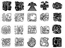Modelli di maya Fotografie Stock