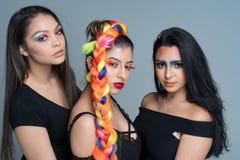 Modelli di moda femminili Fotografie Stock
