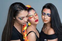 Modelli di moda femminili Fotografia Stock