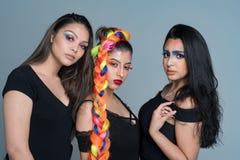 Modelli di moda femminili Fotografia Stock Libera da Diritti