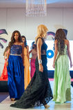Modelli di moda sulla passerella Immagine Stock